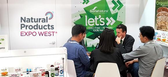 Soria Natural has been exhibiting in Expo West